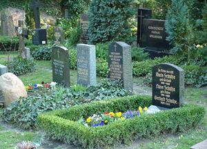 Bestattung Berlin - Bestattungshaus Werner Peter - Reihengrab